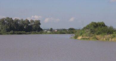 Afluentes cercanos a comunidades de Abasolo inundadas, están al 90 por ciento de su capacidad.