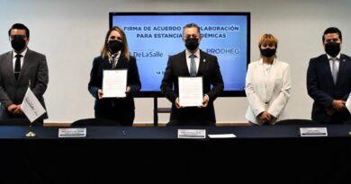 PRODHEG y universidad privada firman alianza para formación de estudiantes en derechos humanos.