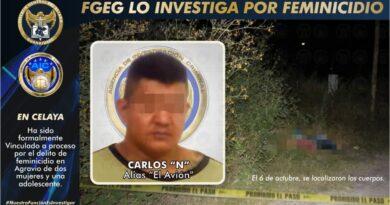 «El Avión», recientemente detenido junto al «M1», habría asesinado a 3 mujeres, en Celaya, por un adeudo.