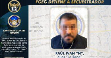 Fiscalía de Guanajuato logra detención de líder de grupo criminal conocido como «La Línea», en Chihuahua.